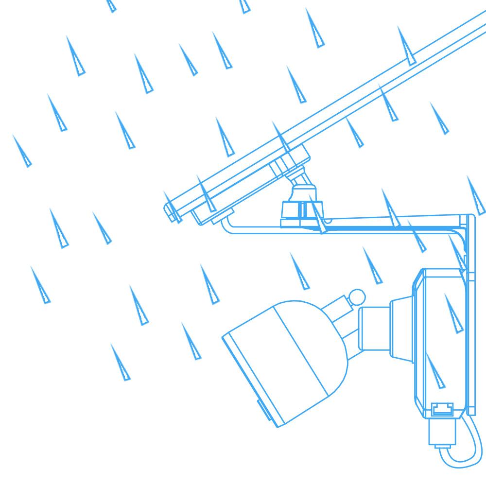 ACSOL1B solar panel water-resistant