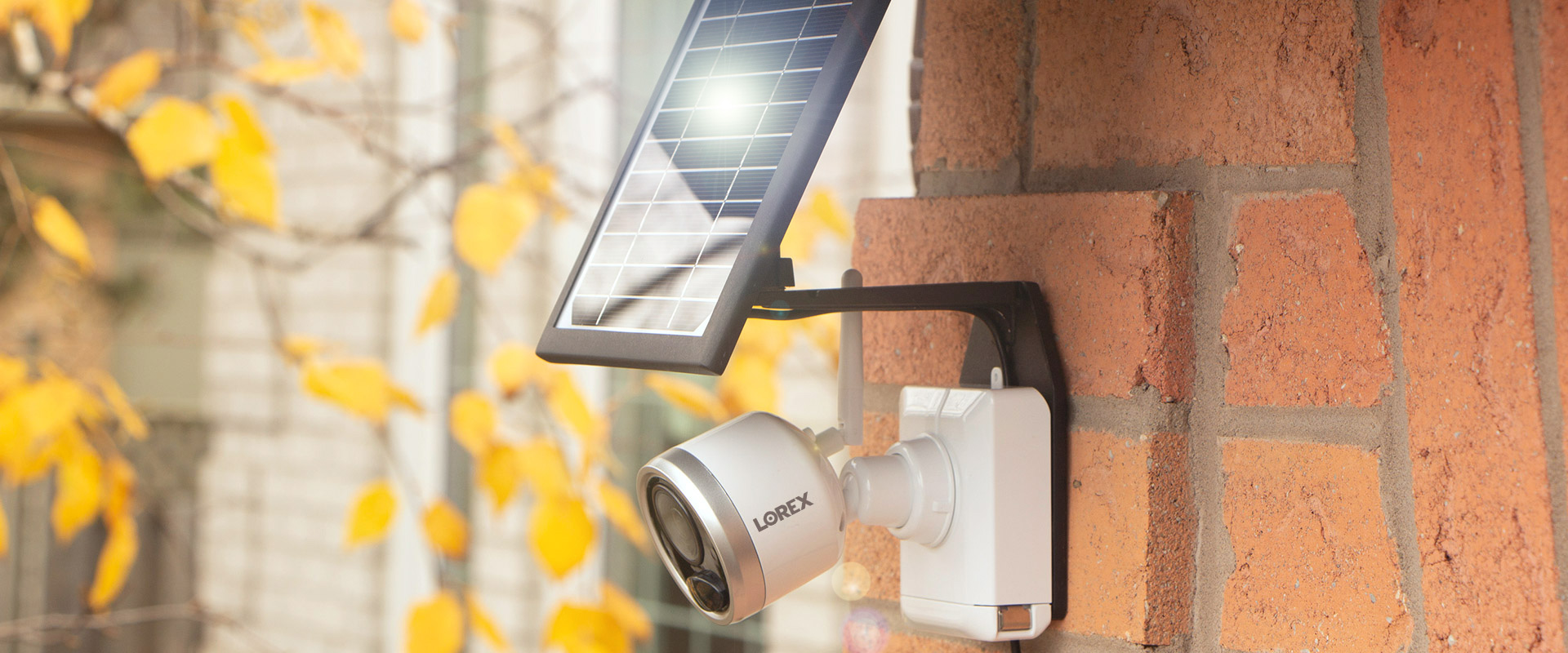 Solar Panel Charger for wire-free cameras