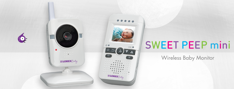 Sweet Peep mini Video Baby Monitor