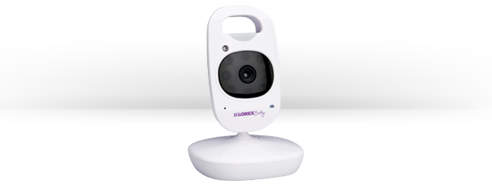 Video baby monitor with 3 wireless cameras