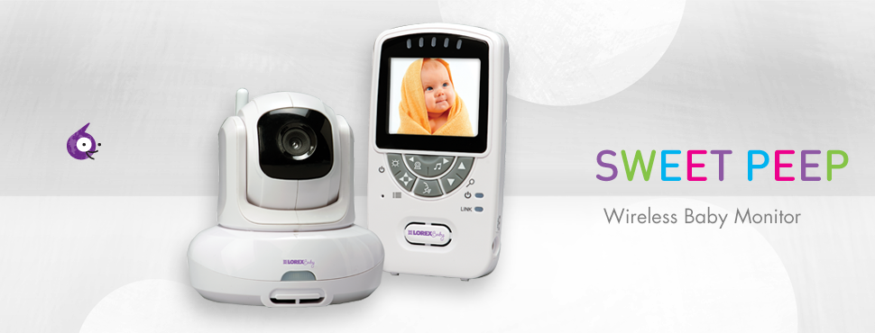 SWEET PEEP Series video baby monitor