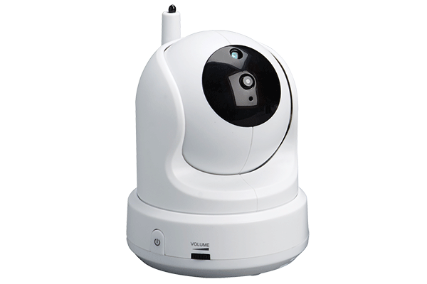 Pan-Tilt accessory camera for Care N Share wireless baby monitor