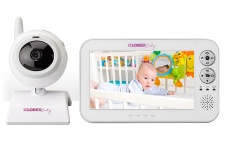 baby monitor with large screen