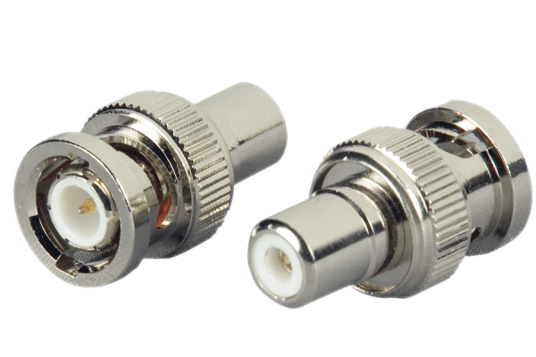 BNC - RCA security video connectors