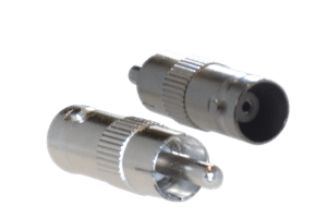 BNC - RCA security video connector