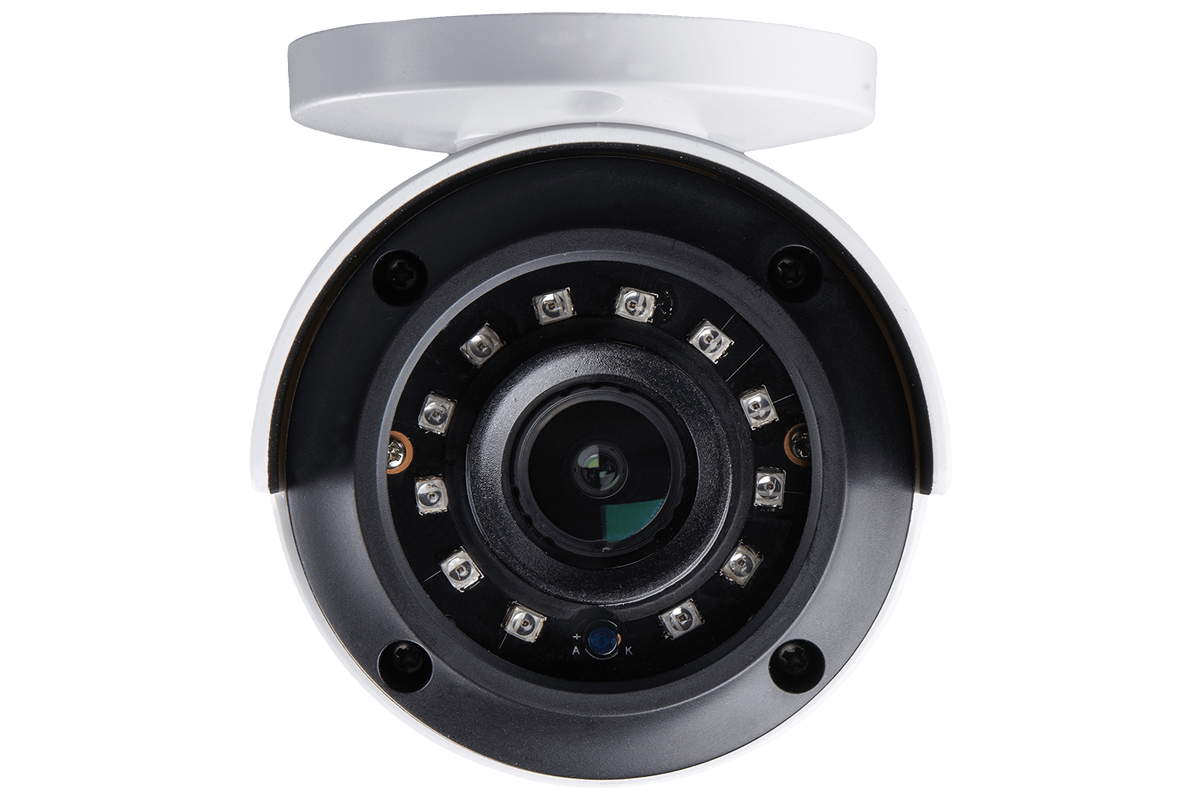 4K MPX active deterrence security camera