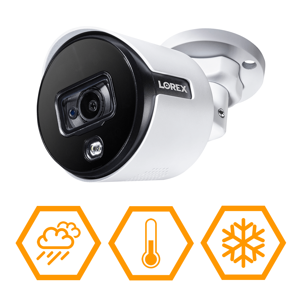 4K IP67 weatherproof security camera for year-round protection