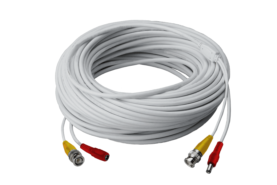 120FT high performance BNC Video/Power Cable for Lorex security camera systems