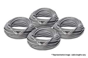 100 foot Cat5e Extension Cables (4-pack)