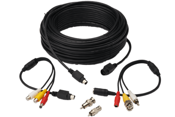 Universal 100FT security camera extension cable