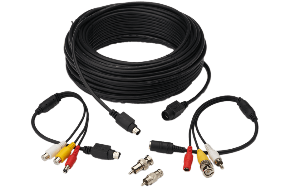Universal 100FT security camera extension cable | Lorex