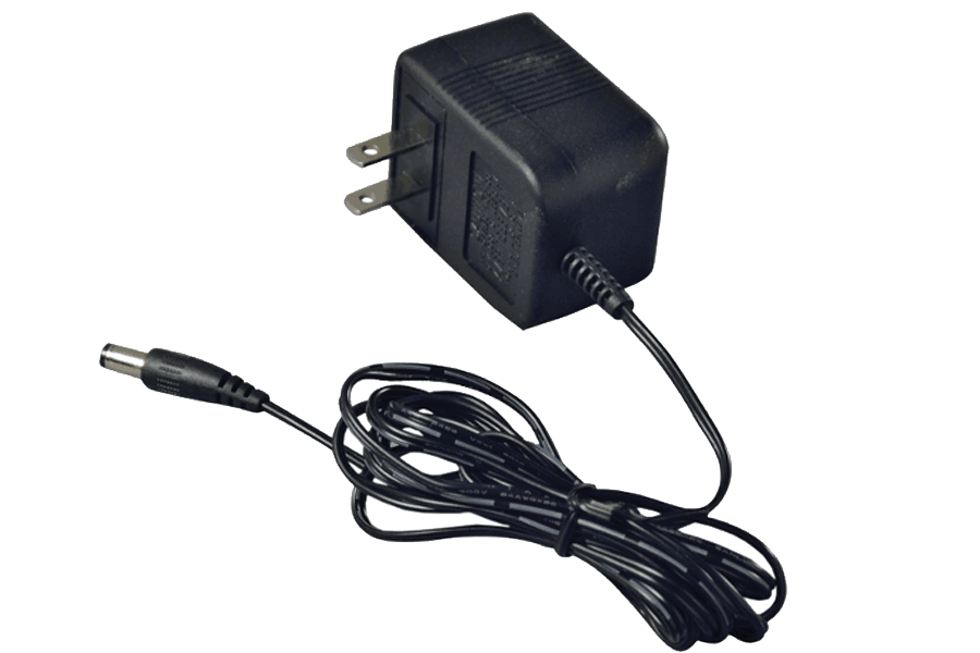 12V regulated DC security power adapter 500MA