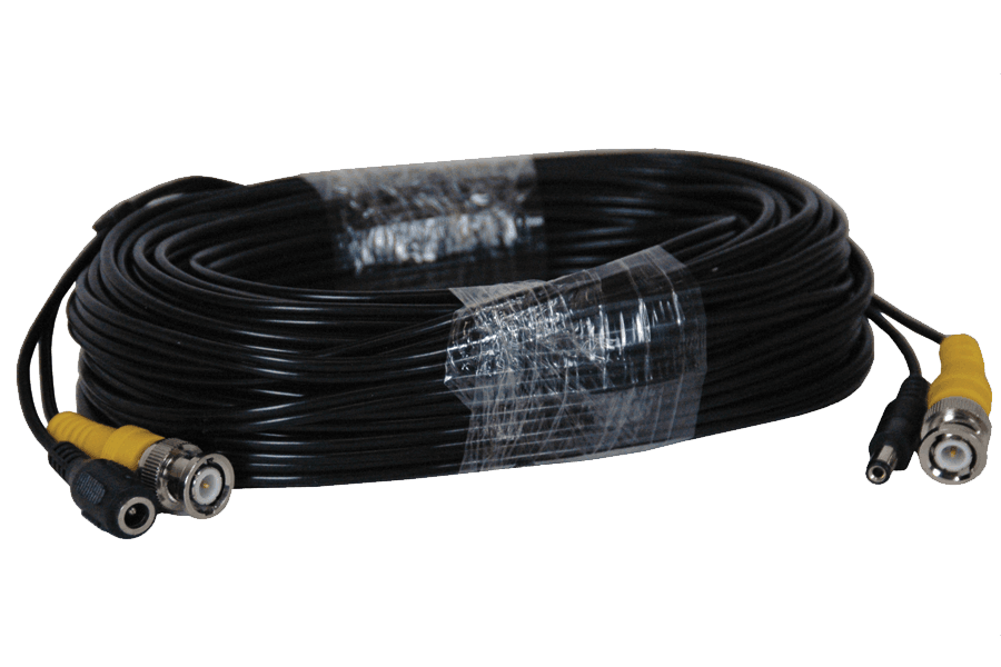 60FT BNC security video power cable