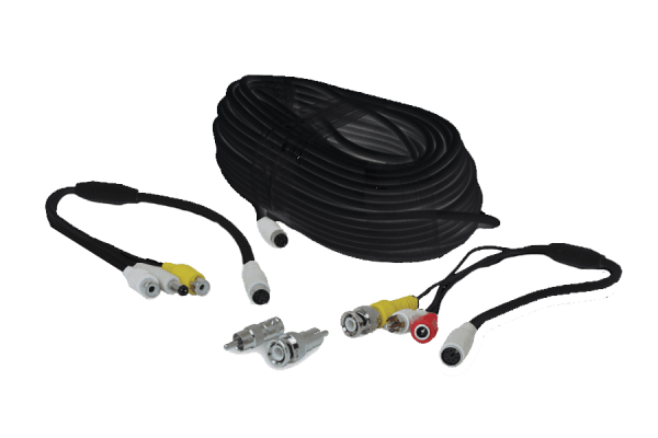 100FT universal surveillance security camera extension cable