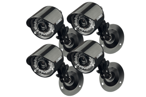Outdoor security cameras with night vision (4 Pack)