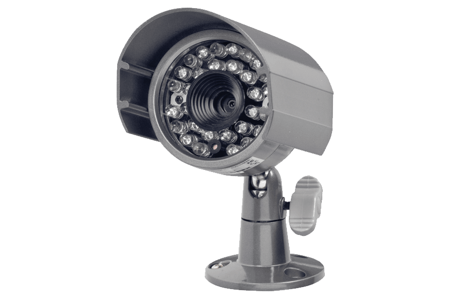 Security camera surveillance with advanced image sensor