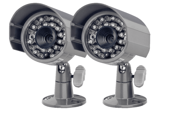 Out door security cameras with night vision (2 Pack)