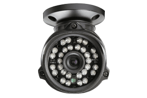 High-resolution weatherproof night vision security cameras
