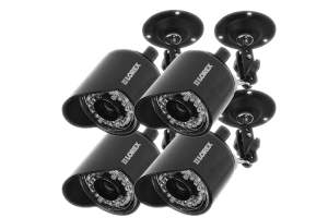 Outdoor security cameras weatherproof with Night vision (4-pack)