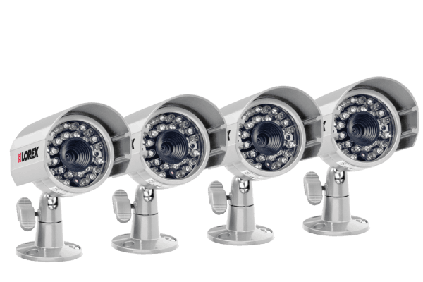 Video security cameras 660 TVL (4 Pack)