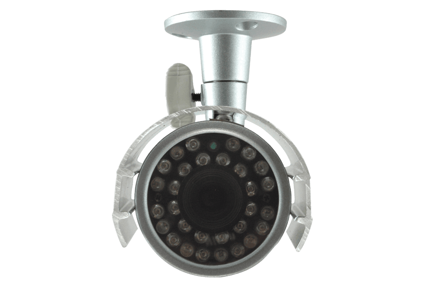 Outdoor surveillance camera with 100FT night vision