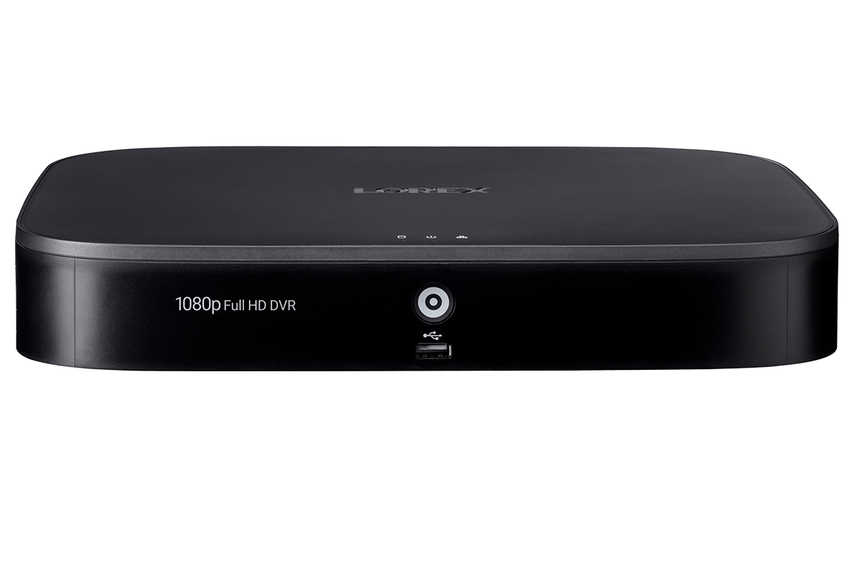 D241 Series - 1080p DVR with Advanced Motion Detection