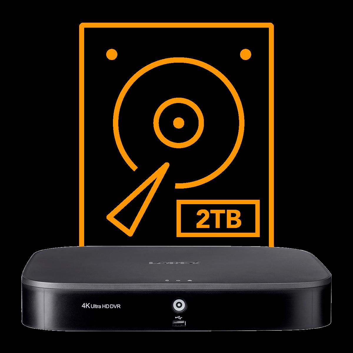 D841b hard drive DVR