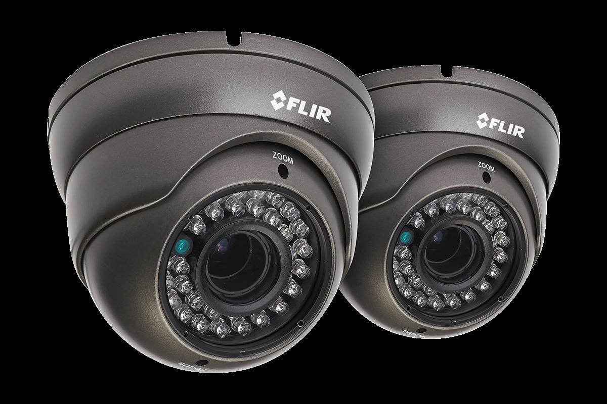 700TVL Security Camera 2-Pack with Night Vision | Lorex