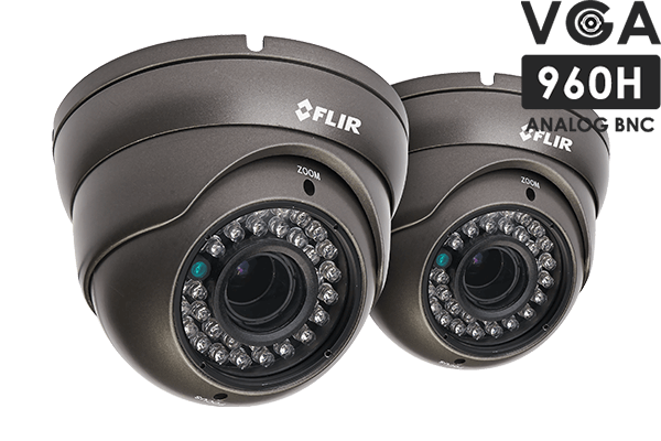 900TVL Security Camera 2-Pack with Night Vision