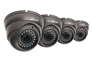 900TVL Security Camera 4-Pack with Night Vision