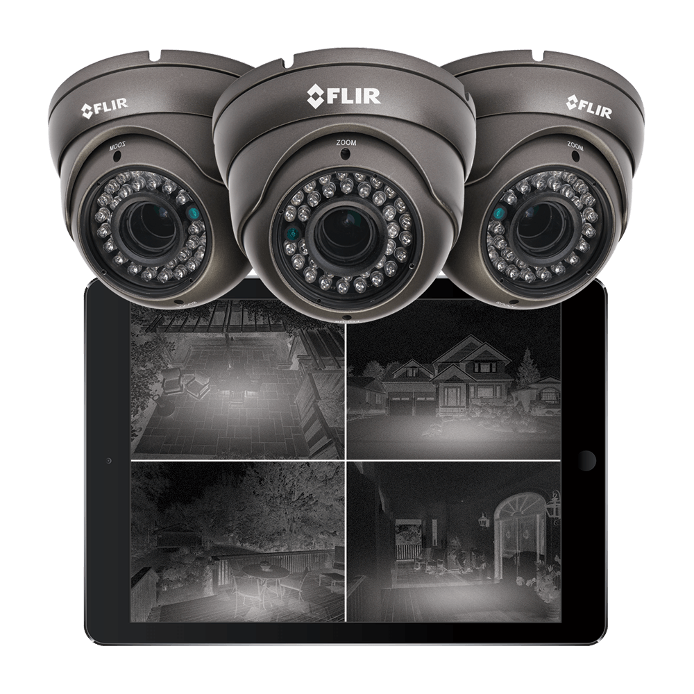 night vision security cameras from Lorex