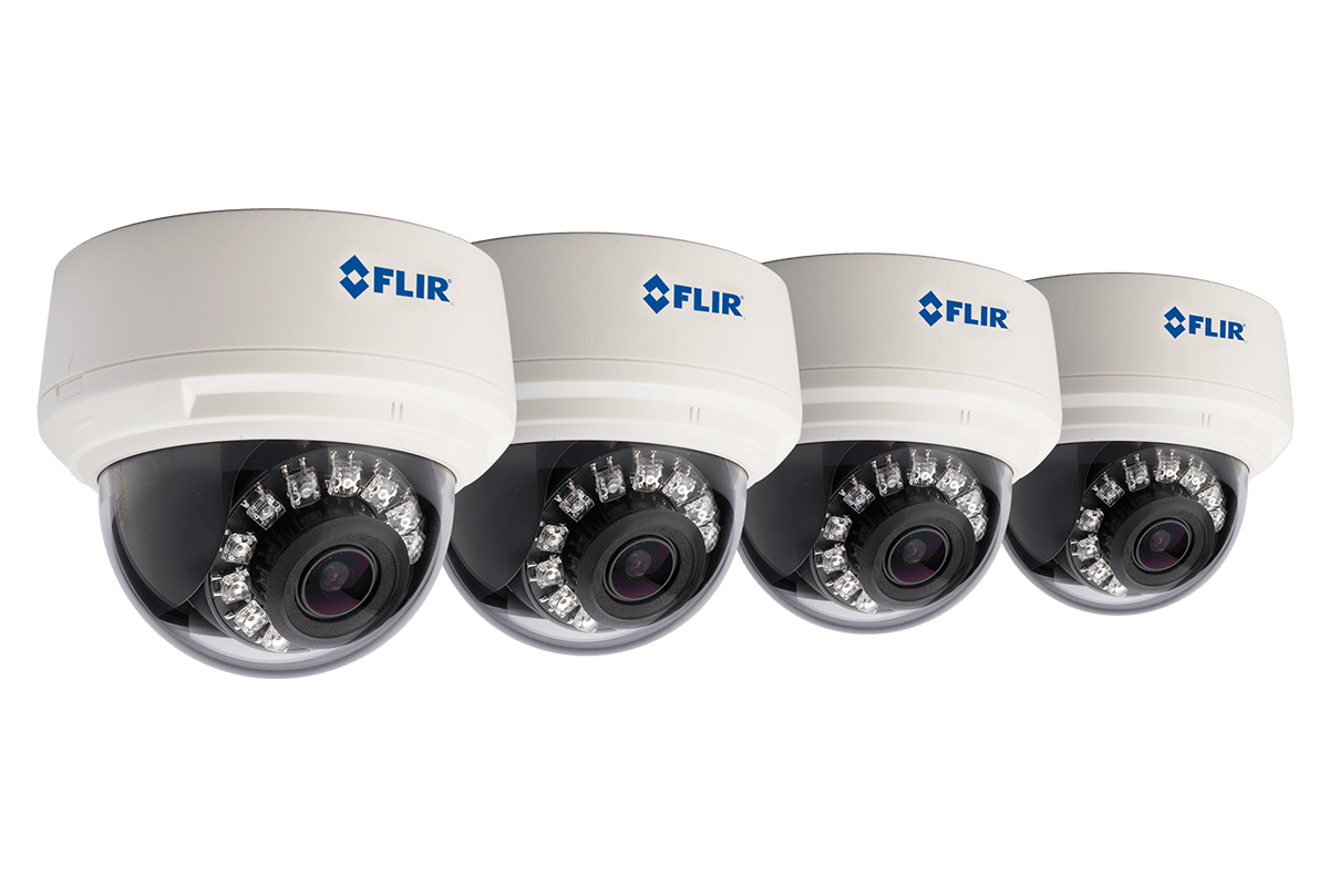 700TVL Smart IR Varifocal Dome Camera 4 Pack