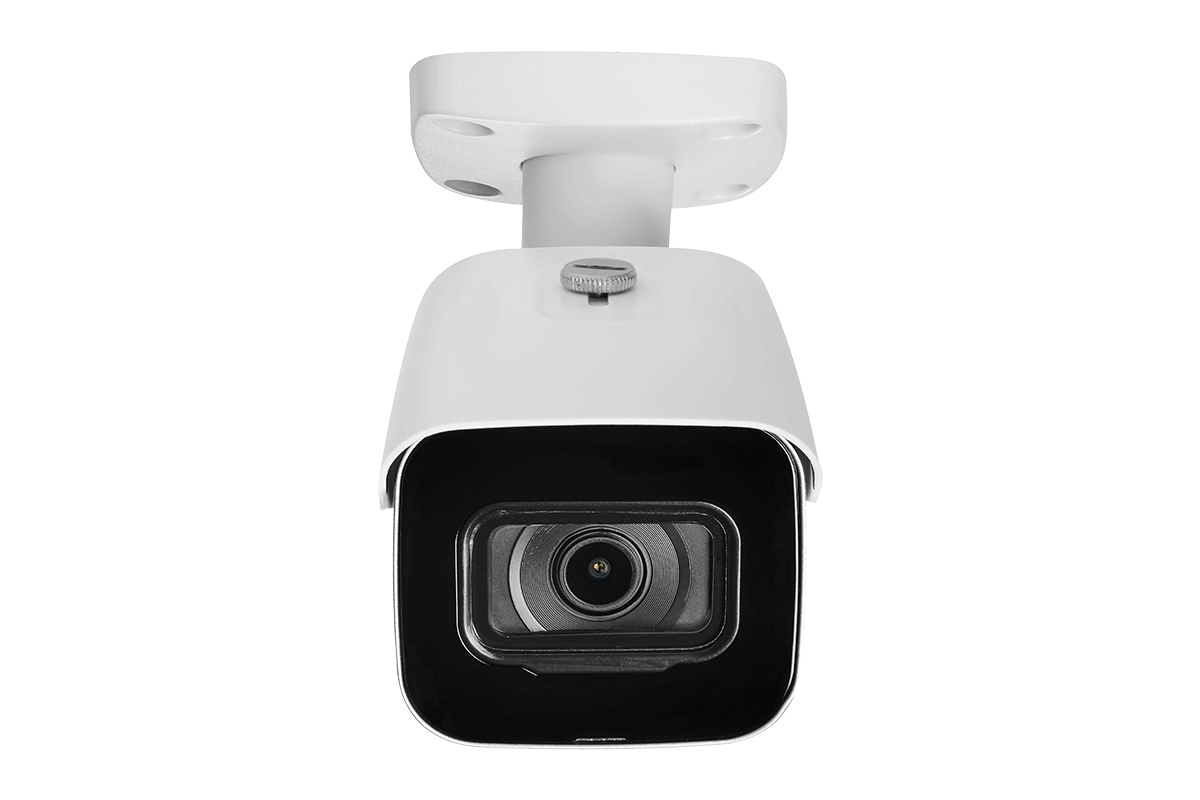 4K resolution smart security camera