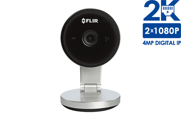 Wifi Home Security Camera with 2K Super HD Resolution (black) | Lorex