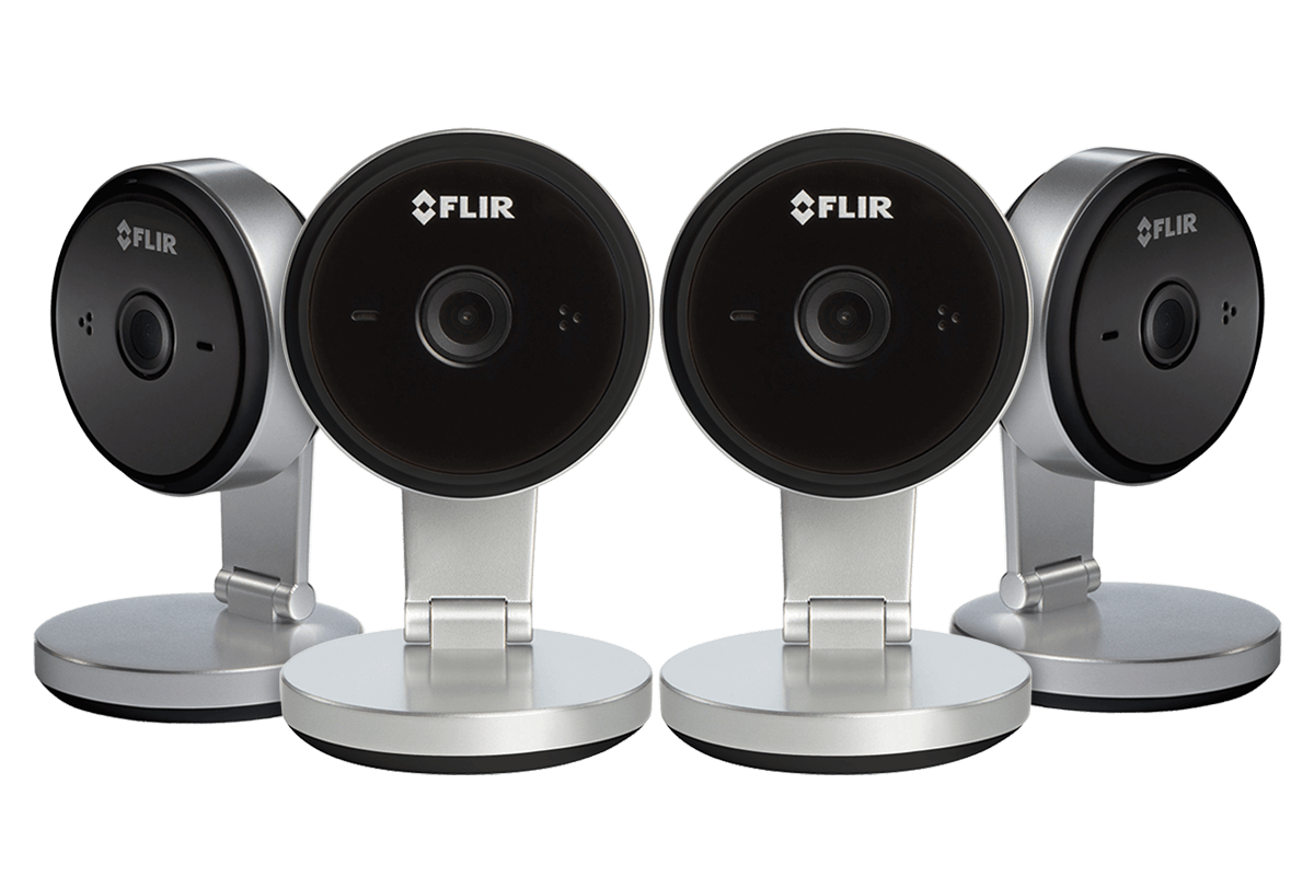 Wifi Home Security Camera with 2K Super HD resolution 4 pack