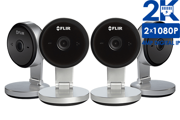 Wifi Home Security Camera with 2K Super HD resolution (4-pack ...