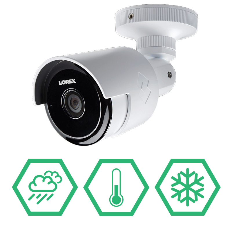 2k Outdoor Wifi Security Camera With 60ft Night Vision And 155 Degree Wide