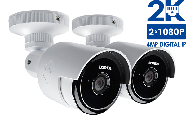 2K Outdoor WiFi Security Camera with 60ft Night Vision and 155 ...