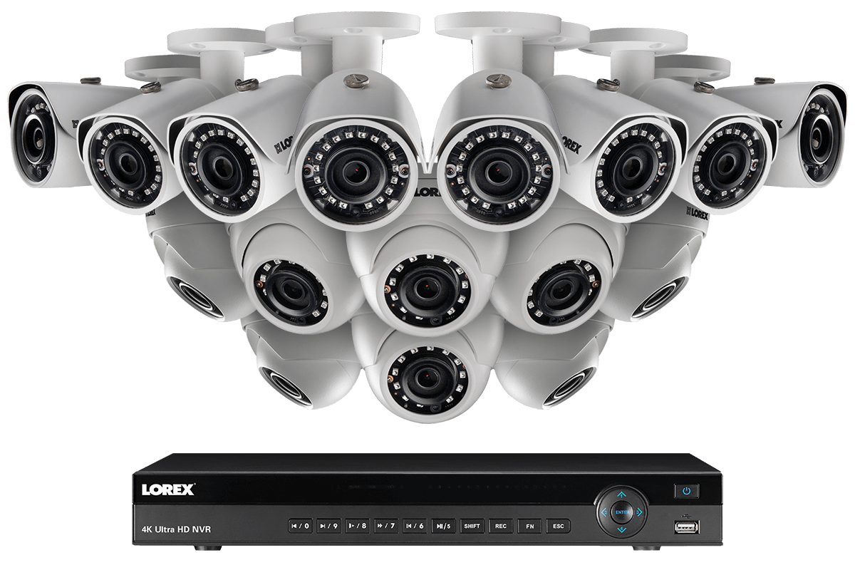 32 Channel NVR Security System with Twenty 2K Resolution