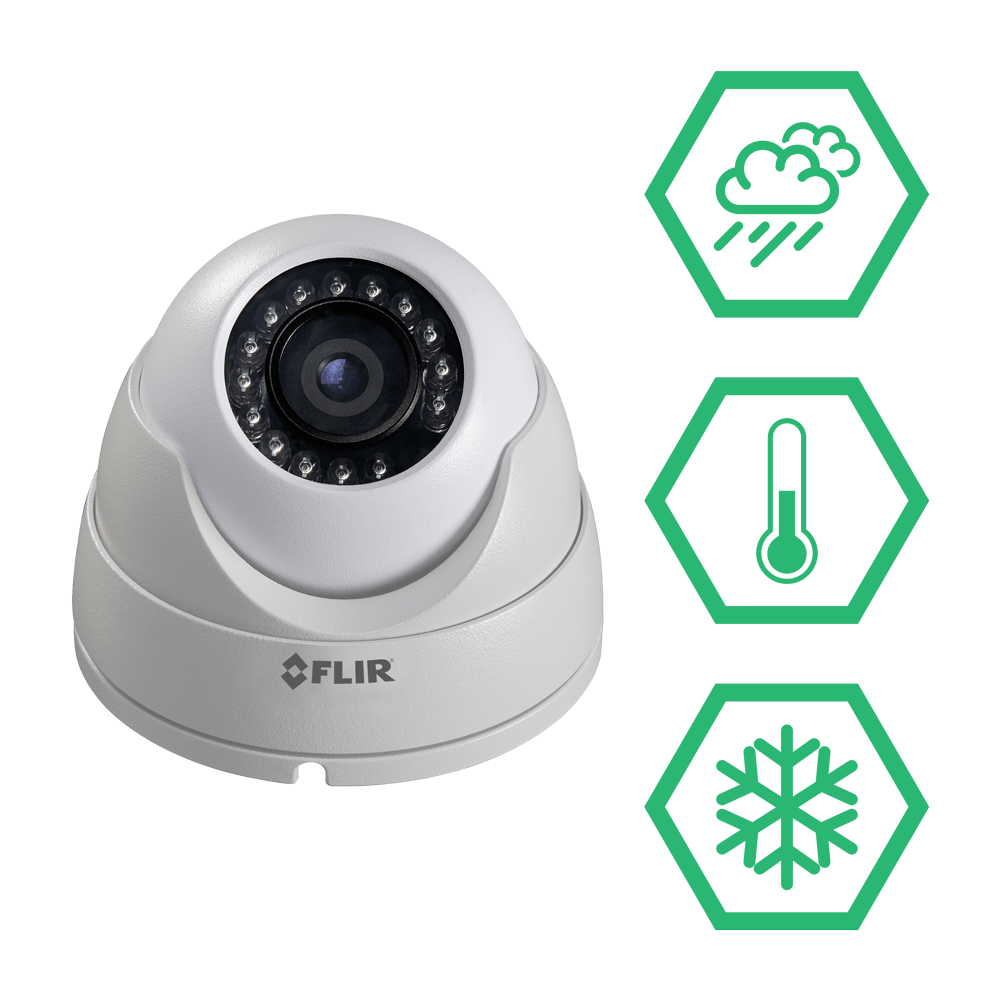 Extreme weather security camera Digital IP system