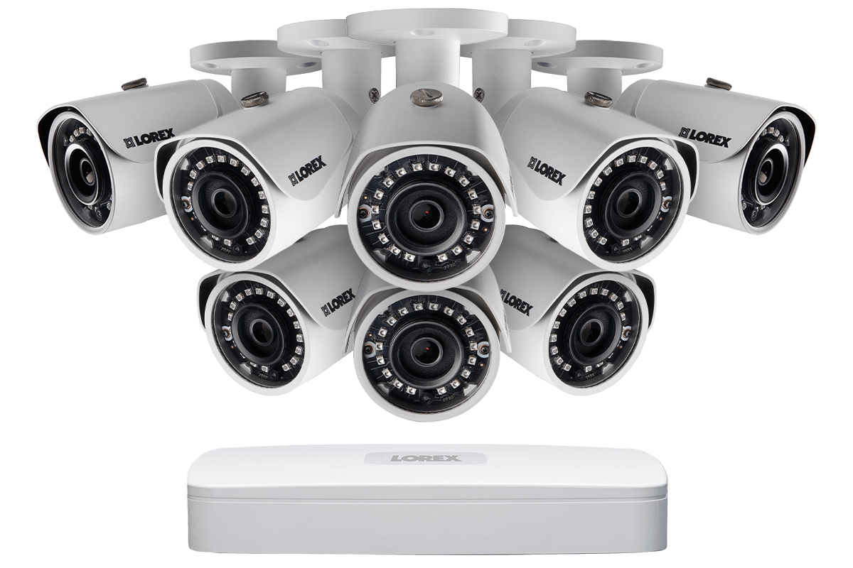a place to call home complete series 4 camera advance pro series cctv installation cctv 1080p HD IP security camera system from Lorex