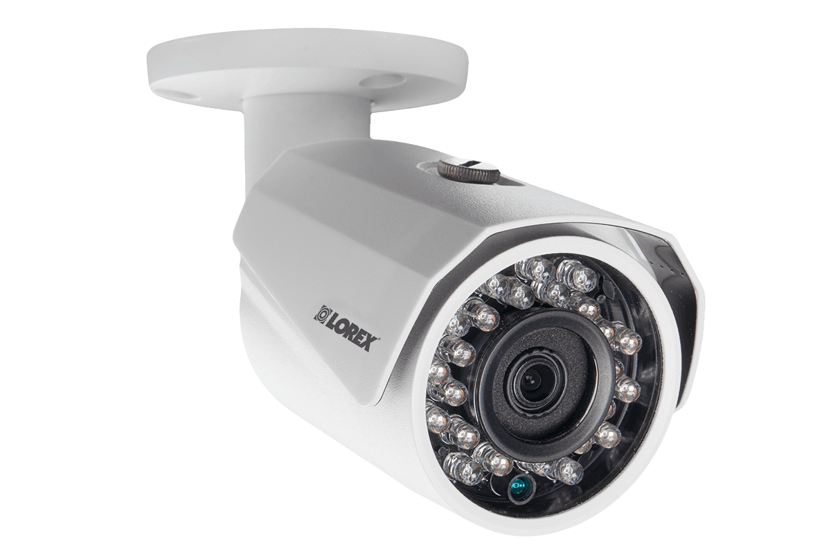 6-Camera Surveillance System with HD 1080p Wired and HD 720p ...