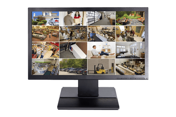 19inch LED security monitor for security camera DVR