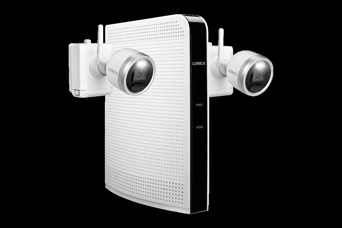 1080p HD Wire-Free Security Camera System Lorex L222A8E-2CM-E