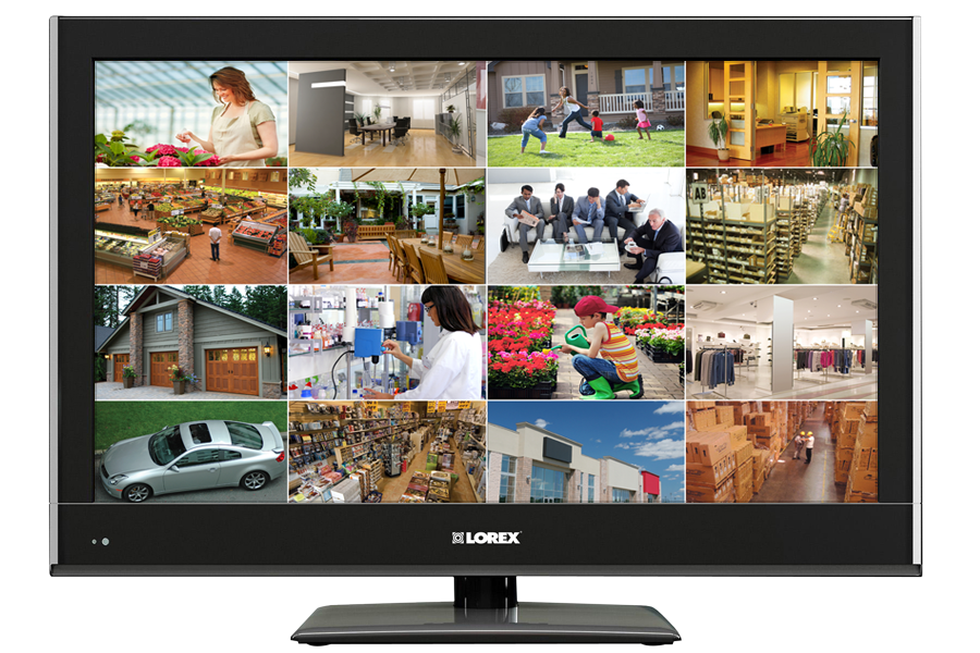 32 widescreen Full HD 1080p TV monitor for security camera DVR
