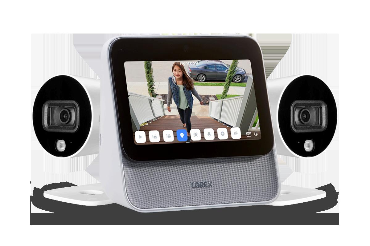 Lorex Home Center with Two 1080p Outdoor Wi-Fi Cameras Lorex L871T8E-2CA2