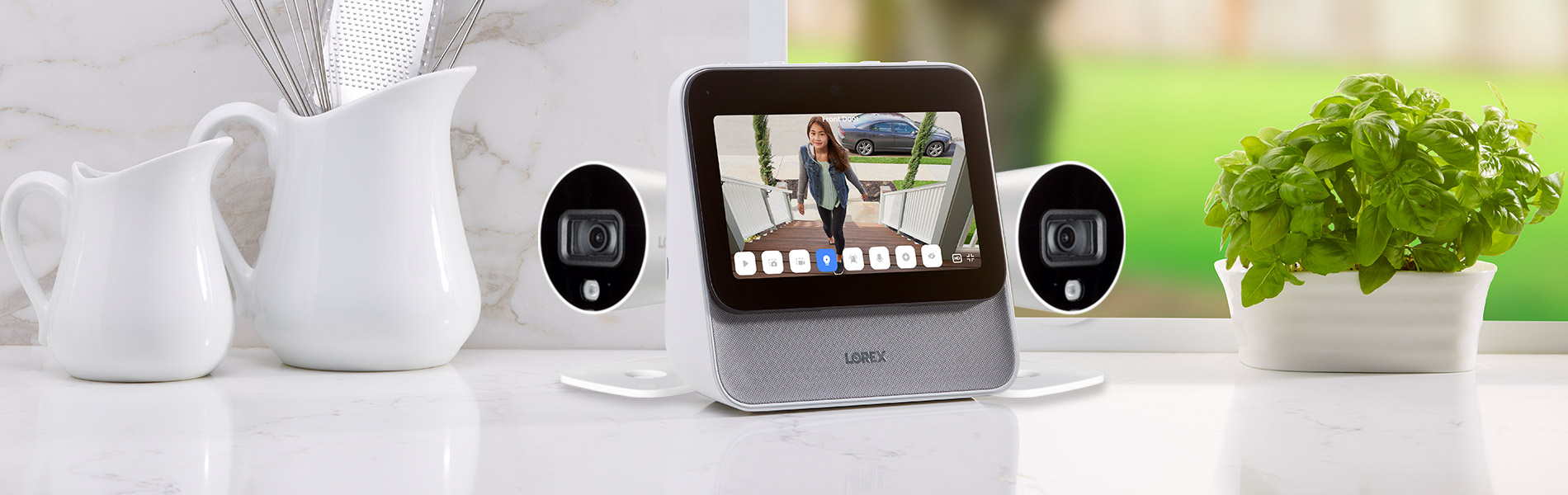 Lorex Home Center and Indoor / Outdoor Cameras