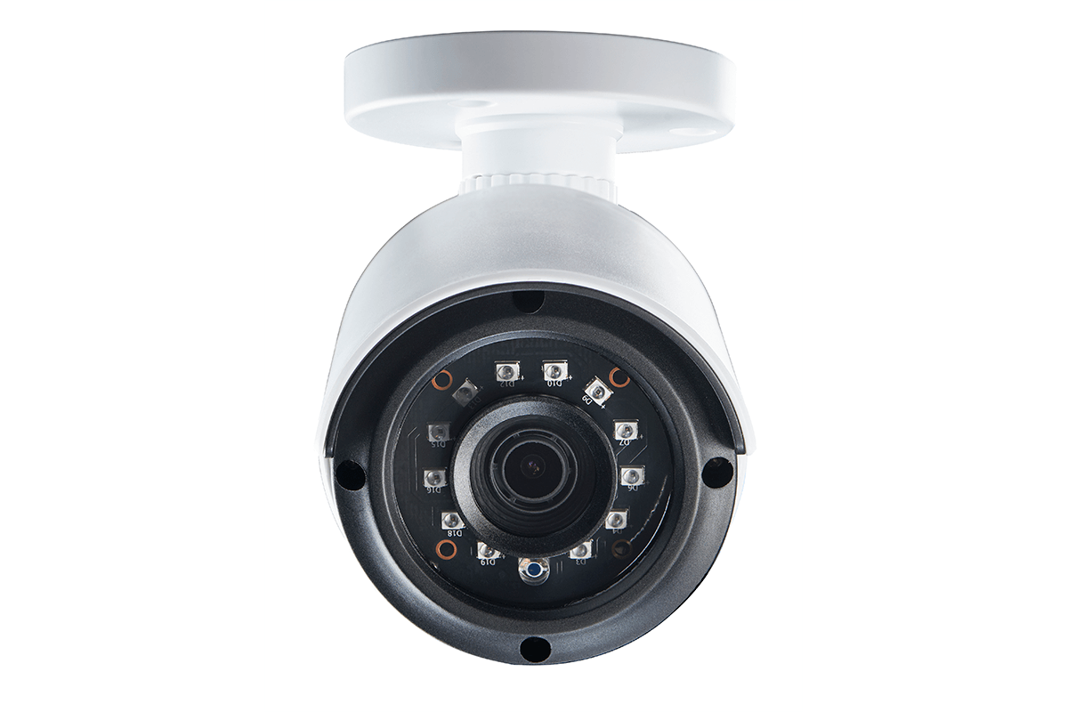 4 Channel 2K HD Security Camera System with 4 2K Outdoor Cameras