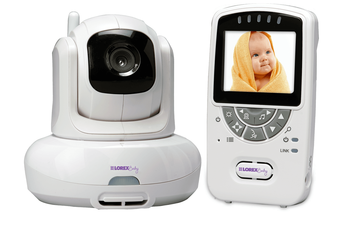 Video Baby Monitor With Wireless Camera Night Vision And Audio