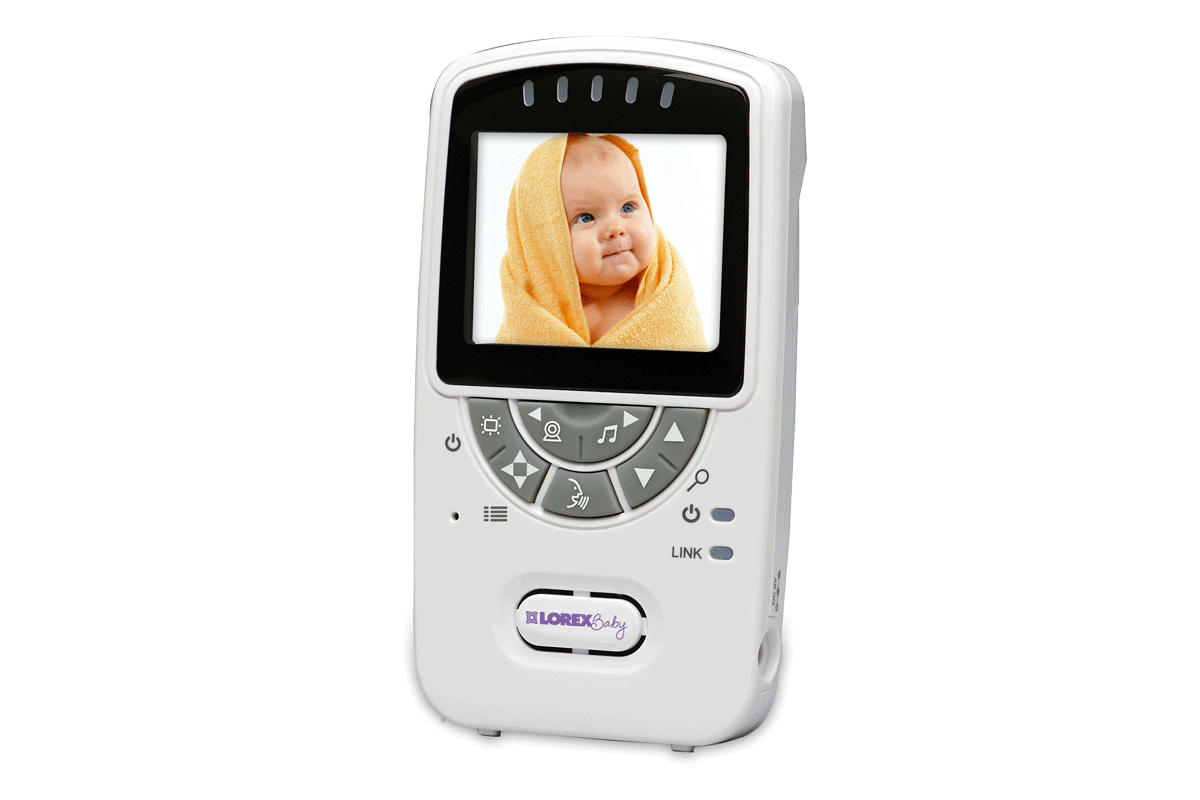 Video baby monitor with wireless camera, night vision and audio
